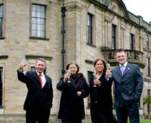 Luxury Group Launch at the Beamish Hall Hotel
