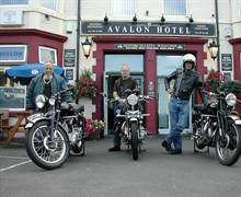 Motorcycle Tourism at the Avalon Hotel, Whitley Bay
