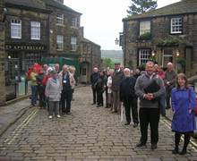 Haworth - Educational Visit for Travel Trade