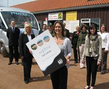 Explore East Lothian Group Tours launched at East Links Holiday Park by the local tourism industry and Elaine Carmichael, Tourism Officer