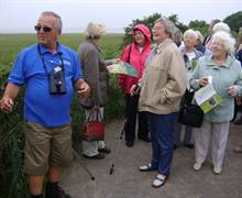 RSPB Newport Wetlands - GTOS enjoy a top coach stop, with a difference