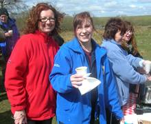 Hadrian's Wall World Heritage Site - Alfresco Lunch with Julie Sloan and Lucy Weeks of Hadrian's Wall Heritage