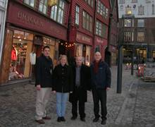 Key Account Meetings in Visit Bergen, Norway with the DeVere Slaley Hall Hotel and Centurion Travel Inbound