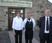 Launch of 'Gourmet Night' at Herding Hill Bistro on Hadrian's Wall World Heritage Site